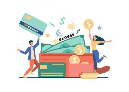 Como sacar e fazer um depósito em dinheiro no Exness